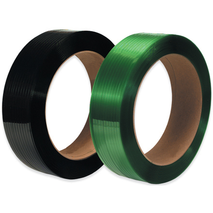 "16 x 3"" Core Polyester Strapping - Smooth"